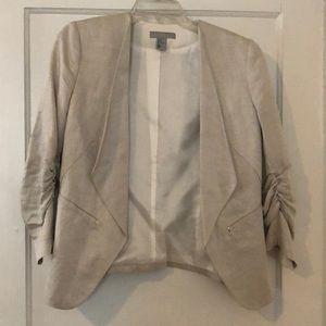 Silver H&M blazer size 12
